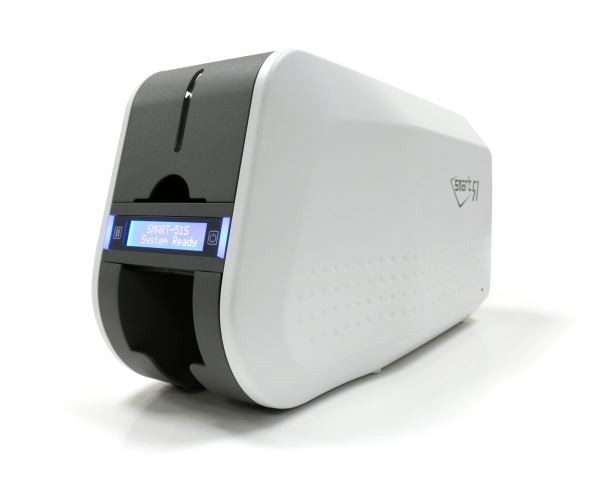 Smart 51 Single Sided ID Card Printer with USB & Magnetic Encoding