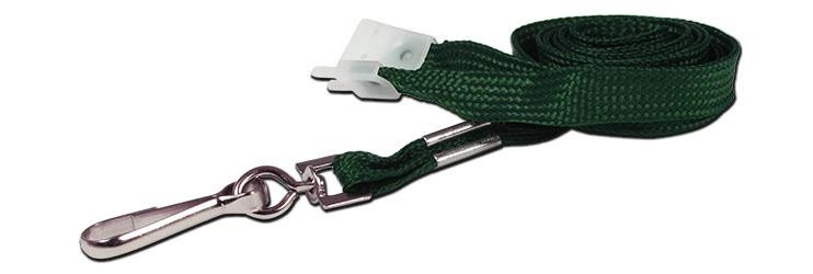 10mm Value Green Lanyard | Pack 10