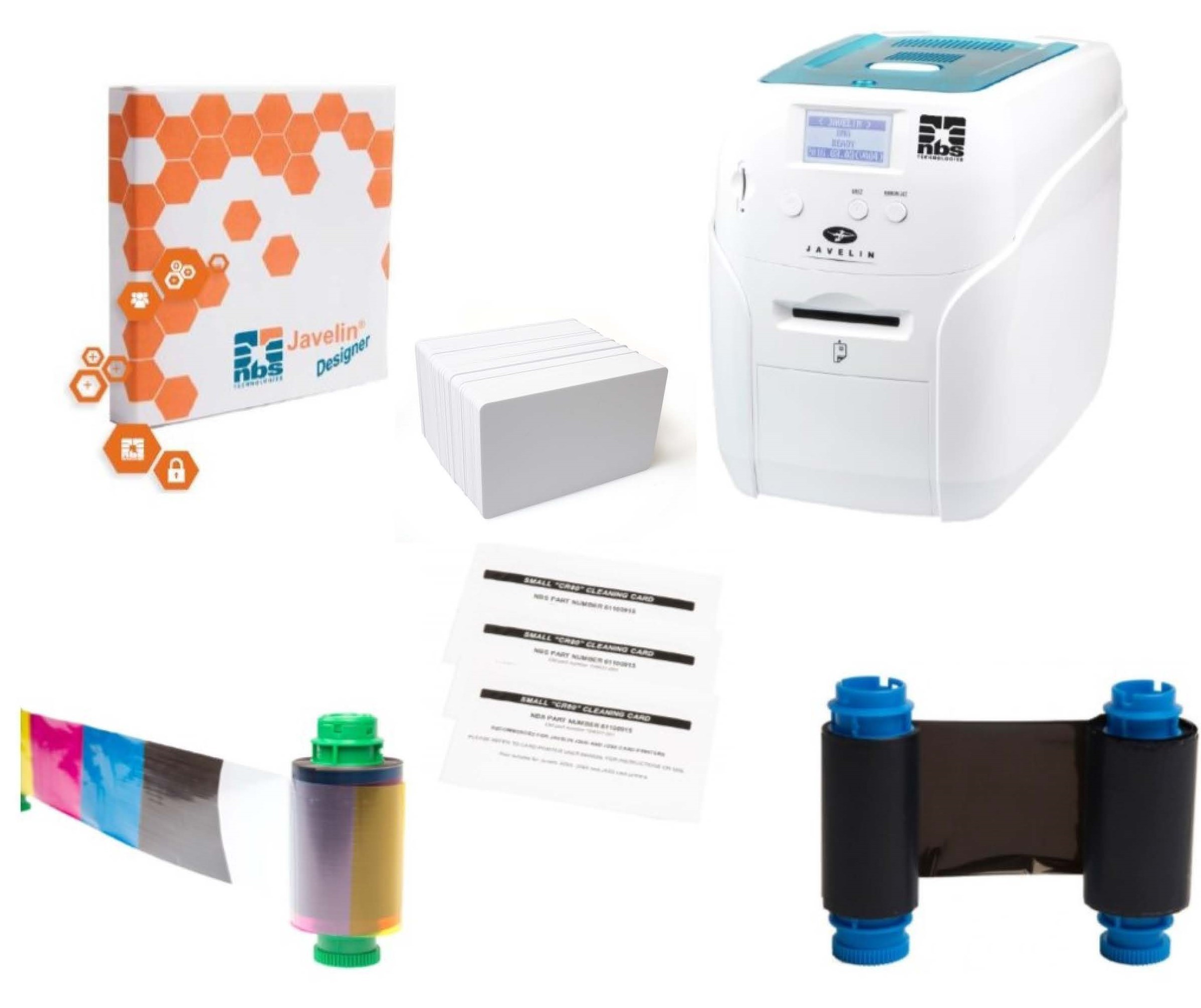 Javelin DNA Card Printer Bundle
