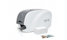 IDP Smart 31s Single Sided Plastic ID Card Printer with Magnetic Encoding