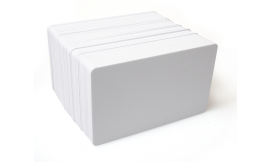 White 760 Micron PET Core Cards (Pack 100)