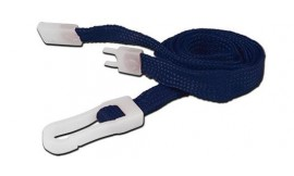 10mm STD Lanyard Plastic Slide Clip Navy Blue (Pack 10)
