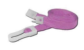 10mm STD Lanyard Plastic Slide Clip Pink (Pack 10)