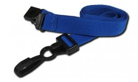 15mm Deluxe Lanyard Royal Blue | Pack 10