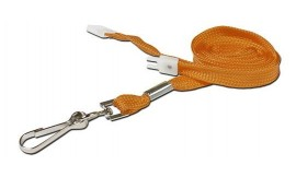 10mm Value Orange Lanyard | Pack 10