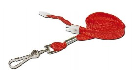 10mm Standard Red Lanyard | Pack 10