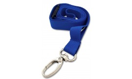 15MM DELUXE LANYARD METAL LOBSTER CLIP BLUE (PACK 10)