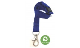 15mm Royal Blue Bamboo Lanyard | Pack 10