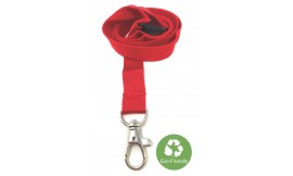 15mm Red Bamboo Lanyard | Pack 10