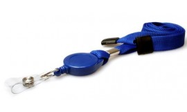 Retractable Premier Lanyard Blue | Pack 50