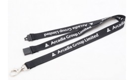 10mm Custom Printed Lanyards One Colour. Pack 50. 15-20 Day Delivery.