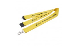 15mm Custom Printed Lanyards One Colour. Pack 50. 7-10 Day Delivery.