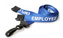 Blue Employee Lanyard | Pack 100
