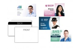 SINGLE SIDE PLASTIC ID HiCo CARD - Pack 10