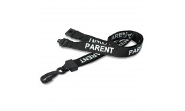 Black Parent Lanyard | Pack 10