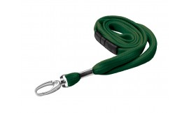 10mm Premier Dark Green Lanyard | Pack 10