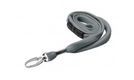 10mm Premier Grey Lanyard | Pack 10