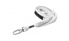 10mm Premier White Lanyard | Pack 10