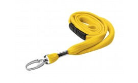 10mm Premier Yellow Lanyard | Pack 10