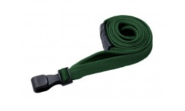 10mm Premium Green Lanyard | Pack 100
