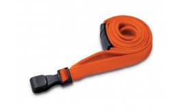 10mm Premium Orange Lanyard | Pack 100