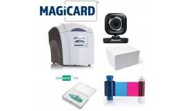 Magicard Pronto Plastic ID Card Printer Bundle