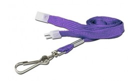 10mm Value Purple Lanyard | Pack 10