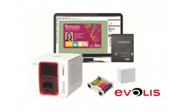 Evolis Zenius Go Pack Printer Bundle